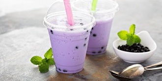 Jagodowe bubble tea 1