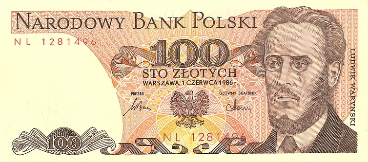 money sto zlotych